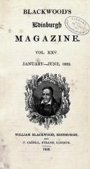 blackwood's magazine, stephen king, branwell brontë, alba de cespedes, patrick rambaud