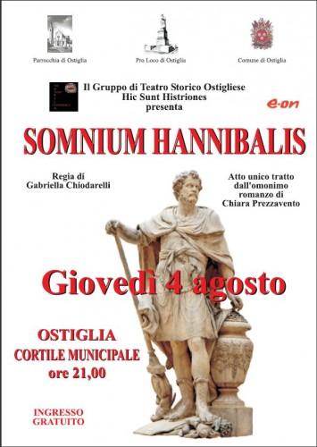 somnium hannibalis, hic sunt histriones, teatro, ostiglia
