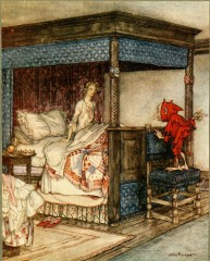 illustrazioni, arthur rackham