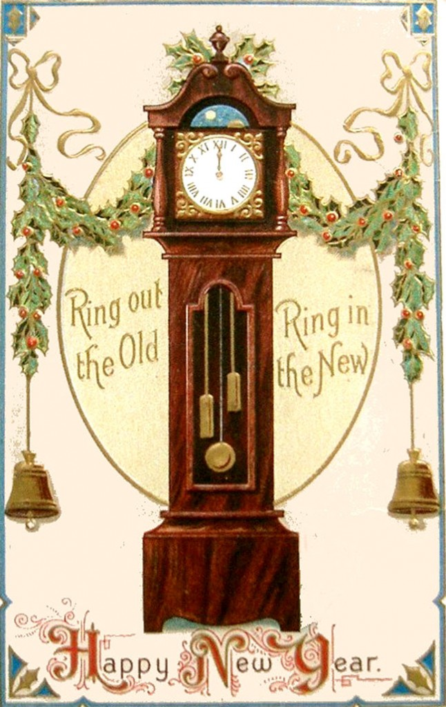 new-year-cards-old-grand-father-clock