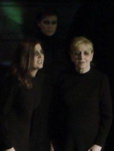 Creusa (Rossella Avanzi), Lavinia (Valentina Durantini) e Amata (Francesca Campogalliani)