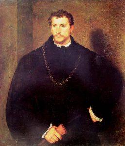 E questo è il Giovane Inglese di Tiziano - ma è così che ho sempre immaginato Rodrigo.