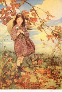 jessie-willcox-smith-autumn-leaves