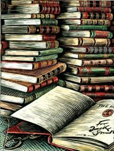 books-illustration