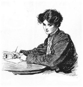 writer-vintage-woman-line-drawing-sm-flipped